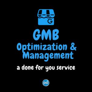 GMB Optimization and Management Service