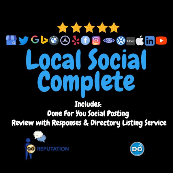 Local Social Complete Service